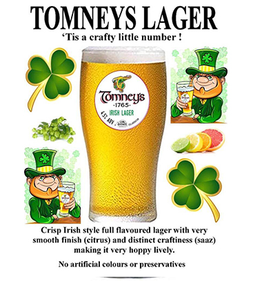 Tomneys Very Own IPA